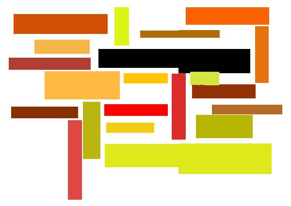 collage av ord med hänvisning till internet